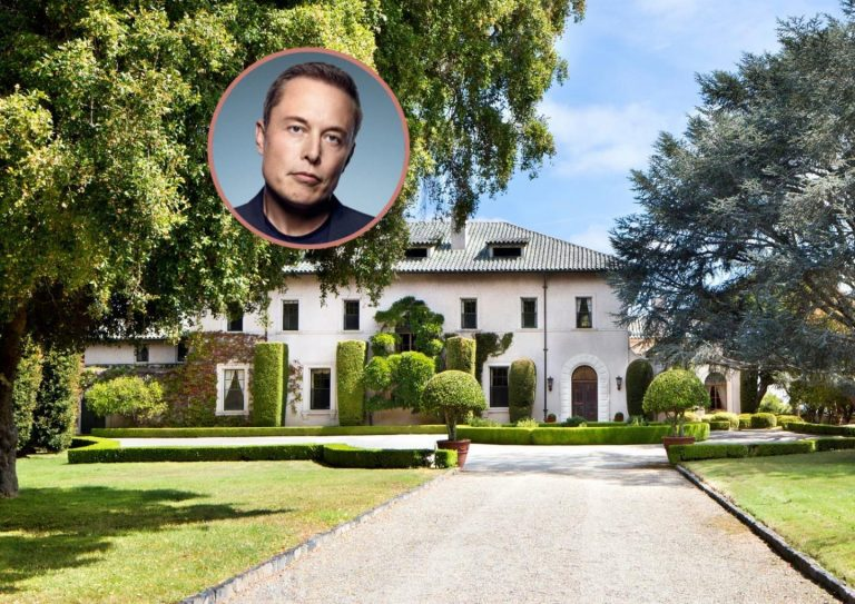 Elon Musk house