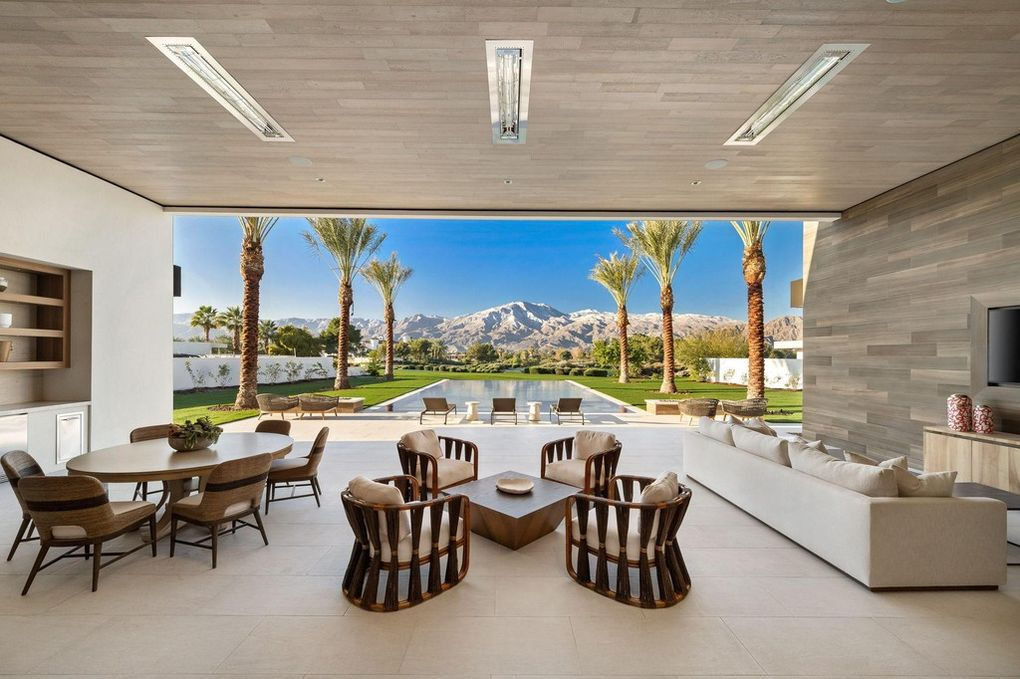 Kourtney Kardashian's new $12 million Palm Springs mansion