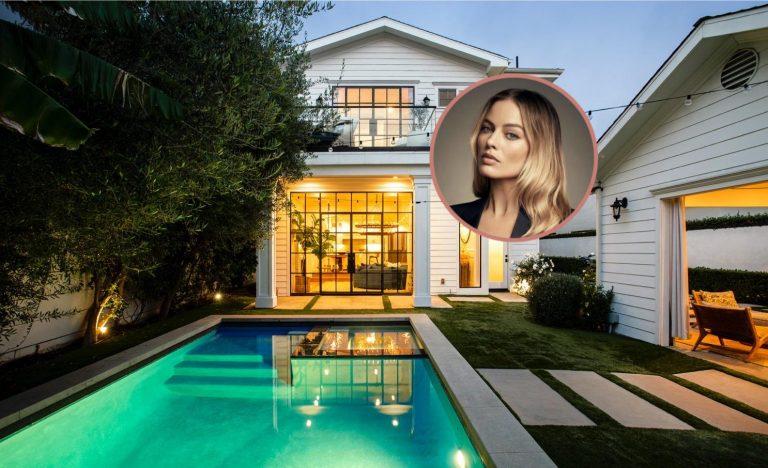 Margot Robbie LA house